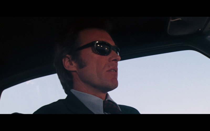 Ray-Ban RB4089 Balorama Sunglasses of Clint Eastwood as SFPD Homicide Inspector Harry Callahan