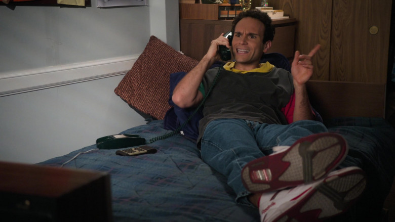 Reebok Pump White Retro Sneakers of Troy Gentile as Barry in The Goldbergs S08E15 TV Show (1)