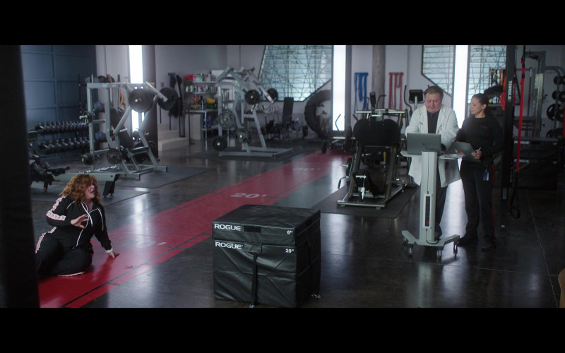 Rogue Fitness Equipment in Thunder Force (2021)