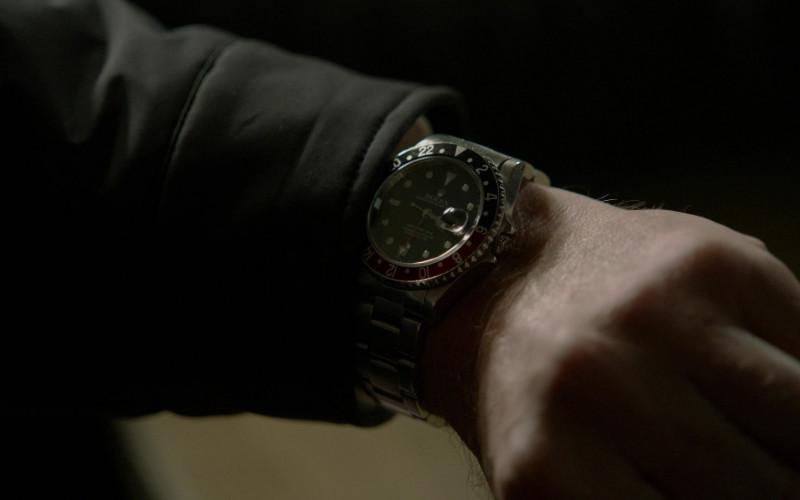 Rolex GMT-Master II Watch of James Spader as Raymond 'Red' Reddington in The Blacklist S08E13 (1)