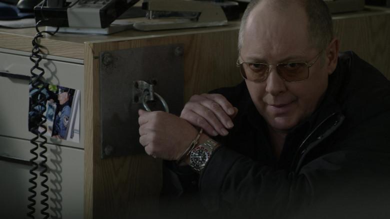 Rolex GMT-Master II Watch of James Spader as Raymond 'Red' Reddington in The Blacklist S08E13 (2)
