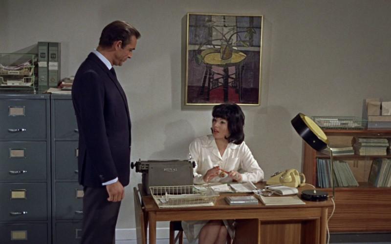 Royal Typewriter in Dr. No (1962)