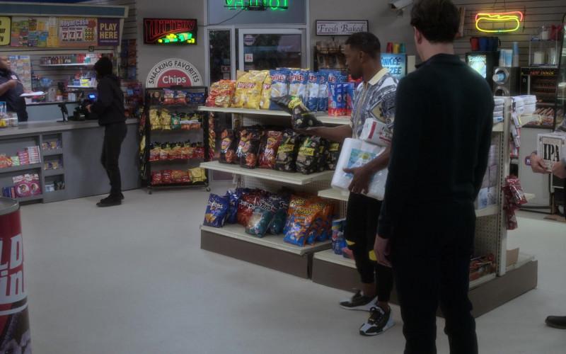 Ruffles Chips, Fritos, Doritos, Cheetos, Lay's, Tostitos, Smartfood Popcorn, Ziploc, Lagunitas