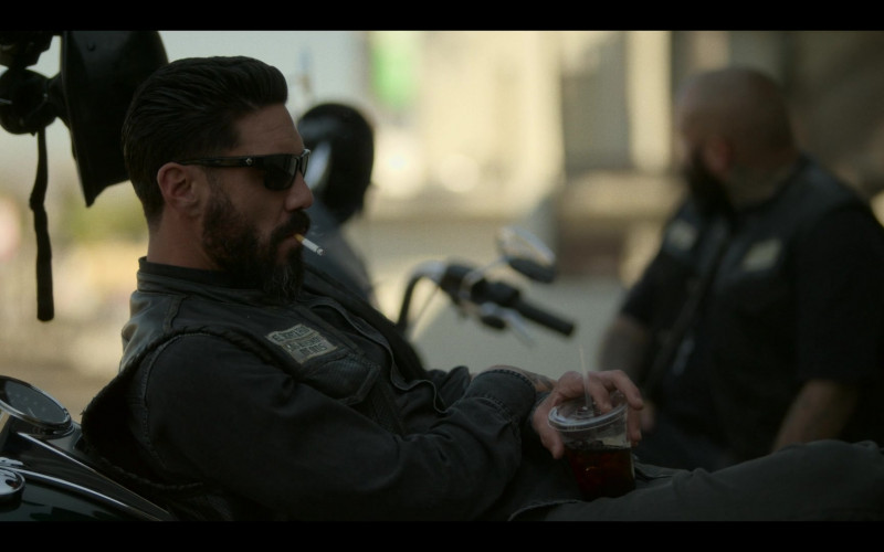 SPY Optic Men's Sunglasses in Mayans M.C. S03E07 What Comes of Handlin' Snakeskin (2021)