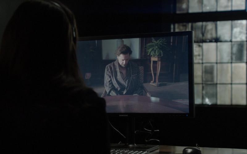 Samsung Monitor in The Blacklist S08E14 (1)