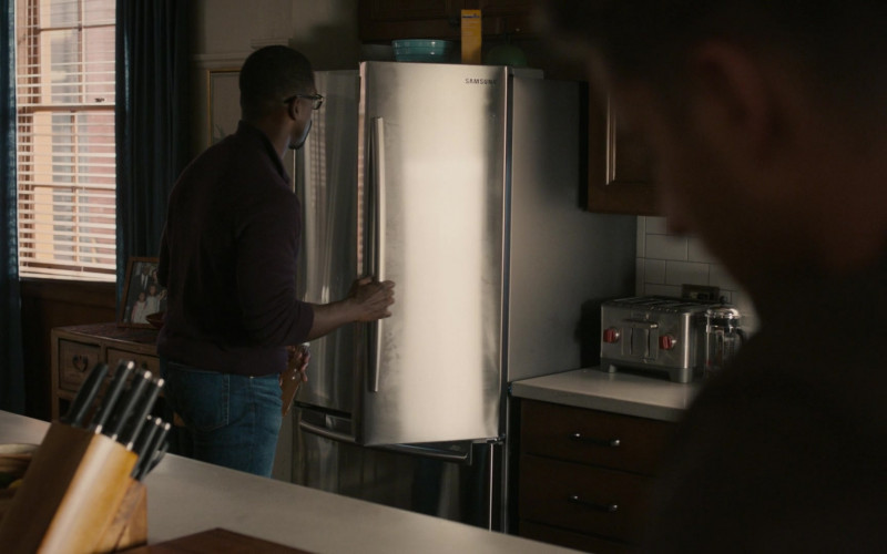 Samsung Refrigerator in This Is Us S05E13 Brotherly Love (2021)