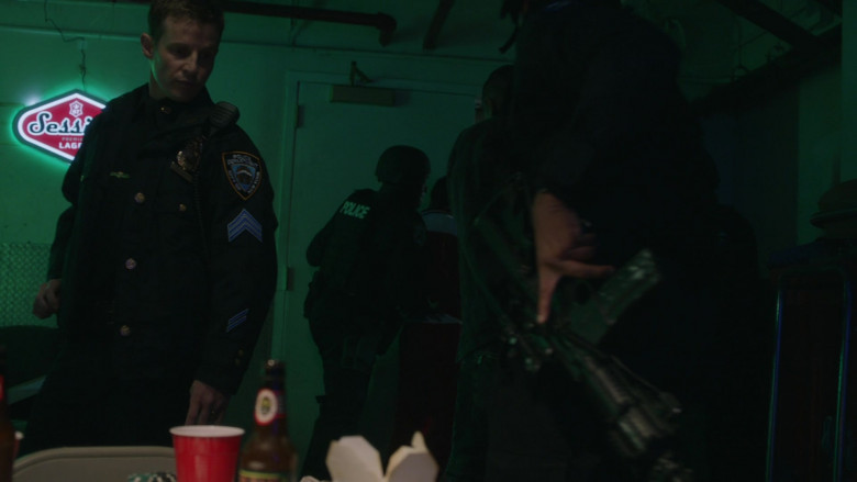 Session Lager by Full Sail Brewery Sign in Blue Bloods S11E10 (1)