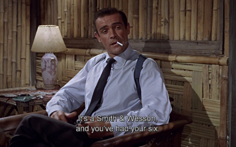 Smith & Wesson in Dr. No (1962)