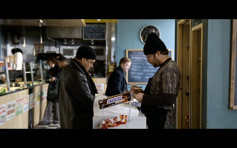 Snickers Chocolate Bars & Skittles Candies in The International (2009)
