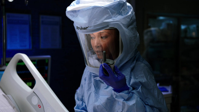 Stryker Personal Protection Equipment Worn by Doctors in Chicago Med S06E11 TV Show 2021 (3)