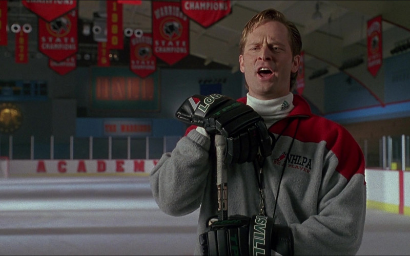 TPS Louisville Hockey Gloves of Jeffrey Nordling as Coach Ted Orion in D3 The Mighty Ducks 1996 (1)