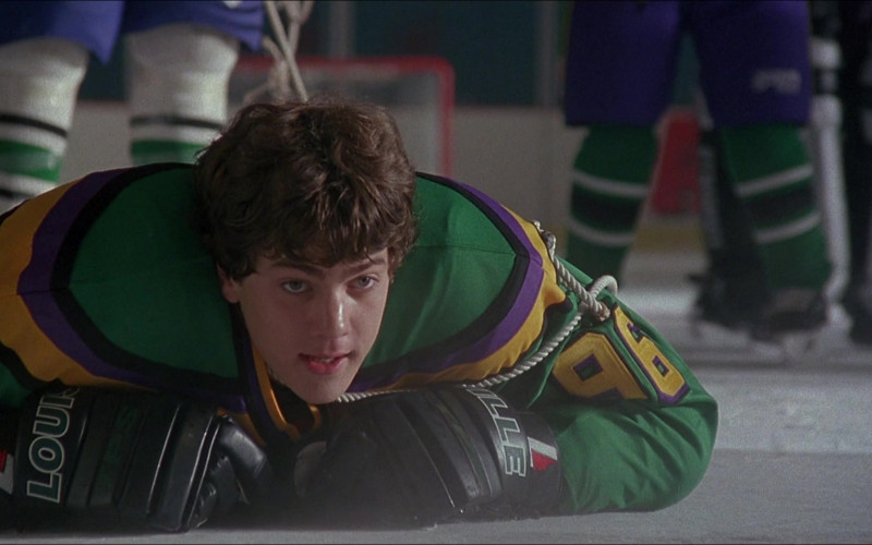 TPS Louisville Ice Hockey Gloves in D3 The Mighty Ducks Movie (1)