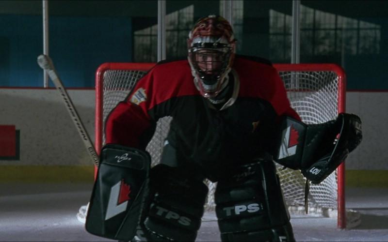 TPS Louisville Ice Hockey Goalie Equipment in The Mighty Ducks 3 Movie 1996 (8)