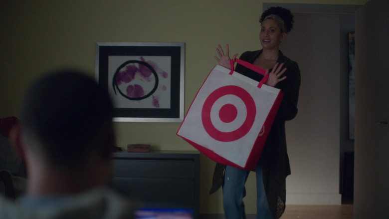 Target Store Bag in A Million Little Things S03E09 The Lost Sheep (2021)