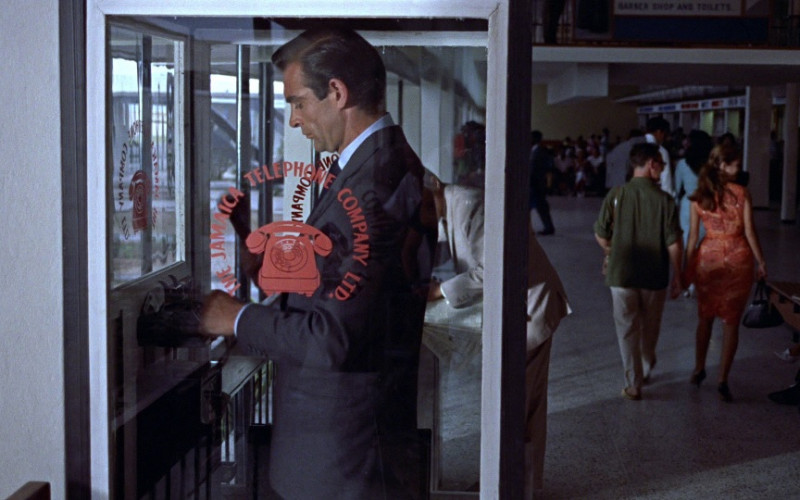 The Jamaica Telephone Company Ltd in Dr. No (1962)