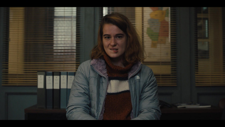 The North Face Women's Jacket in Mare of Easttown S01E02 Fathers (2021)