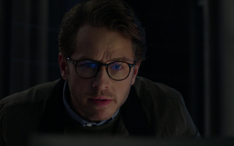 Tom Ford Glasses of Josh Dallas as Ben Stone in Manifest S03E04 Tailspin (2021)