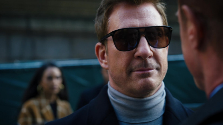 Tom Ford Men's Sunglasses in Law & Order Organized Crime S01E02 Not Your Father's Organized Crime (2021)