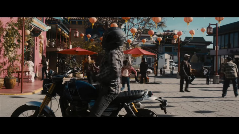 Triumph Motorcycle in Wrath of Man (2021)