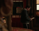 Trumer Pils Sign in Shameless S11E11 The Fickle Lady is Cal...