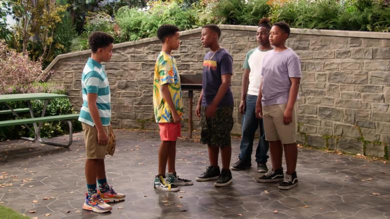 Vans SK8 Hi Otw Cap Sneakers of Isaiah Russell-Bailey as Shaka McKellan in Family Reunion S03E02