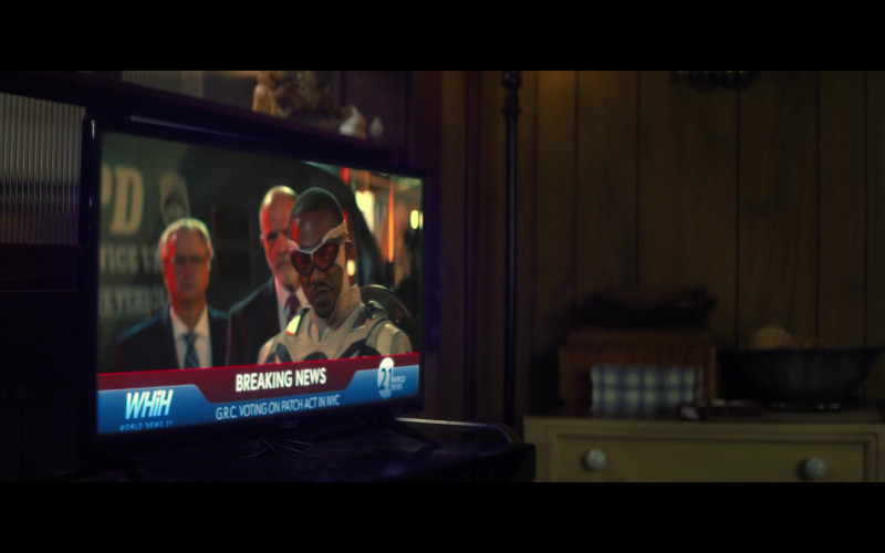 Vizio Television in The Falcon and The Winter Soldier S01E06 One World, One People (2021)