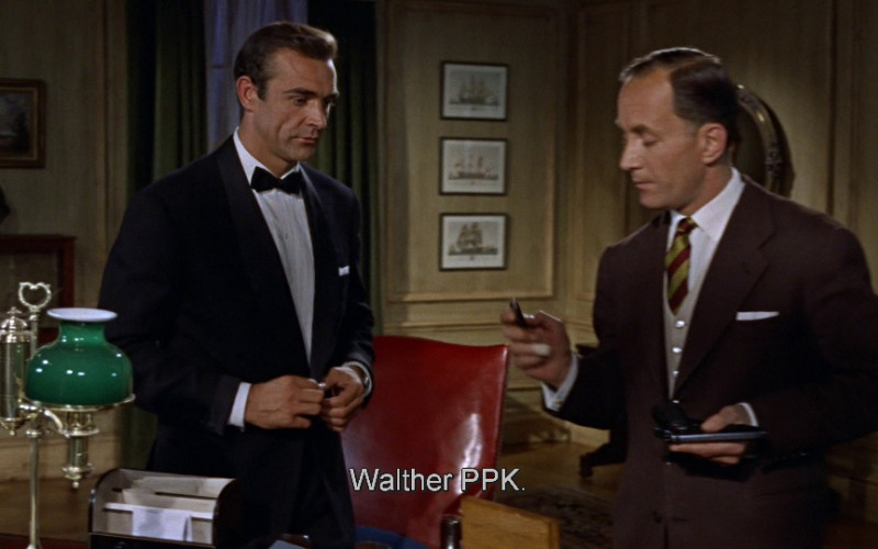 Walther PPK pistol in Dr. No (1962)