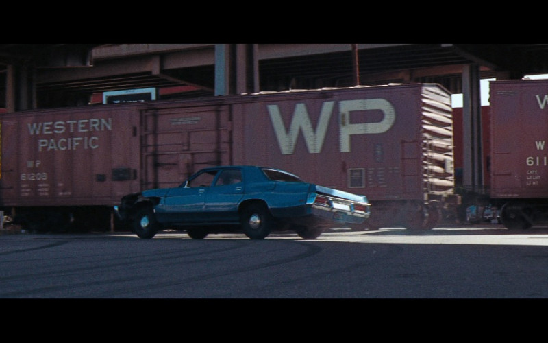 Western Pacific Railroad in Magnum Force (1973)