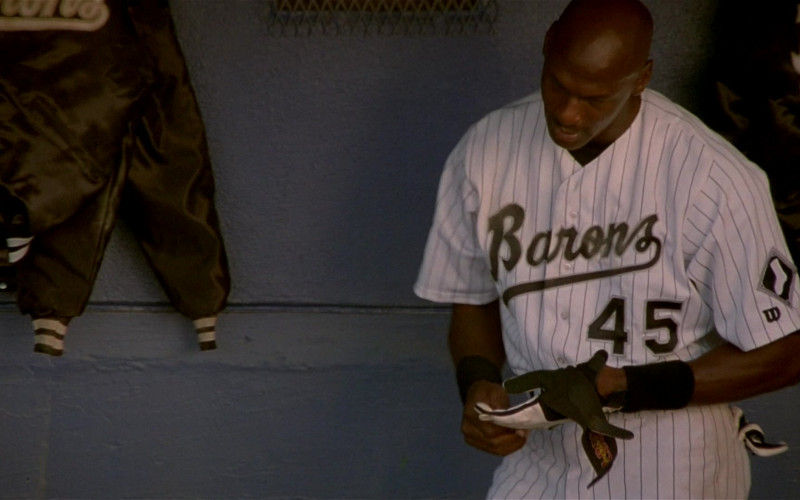 Wilson Baseball Uniform Worn by Michael Jordan in Space Jam (1996)