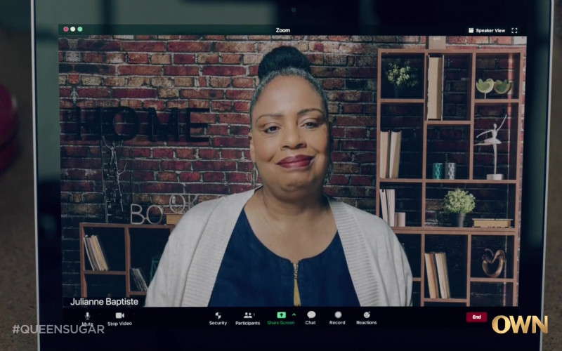 Zoom Videotelephony Software in Queen Sugar S05E09