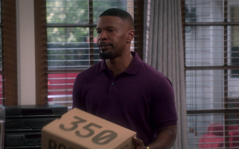 adidas Yeezy Boost 350 Sneakers of Jamie Foxx as Brian Dixon in Dad Stop Embarrassing Me! S01E03 Netflix TV Show (1)
