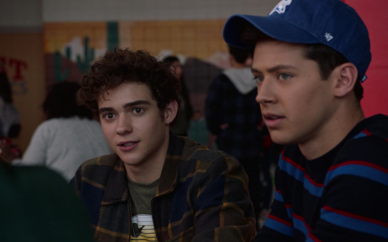 '47 Brand Blue Cap in High School Musical The Musical S02E02 Typecasting (2021)
