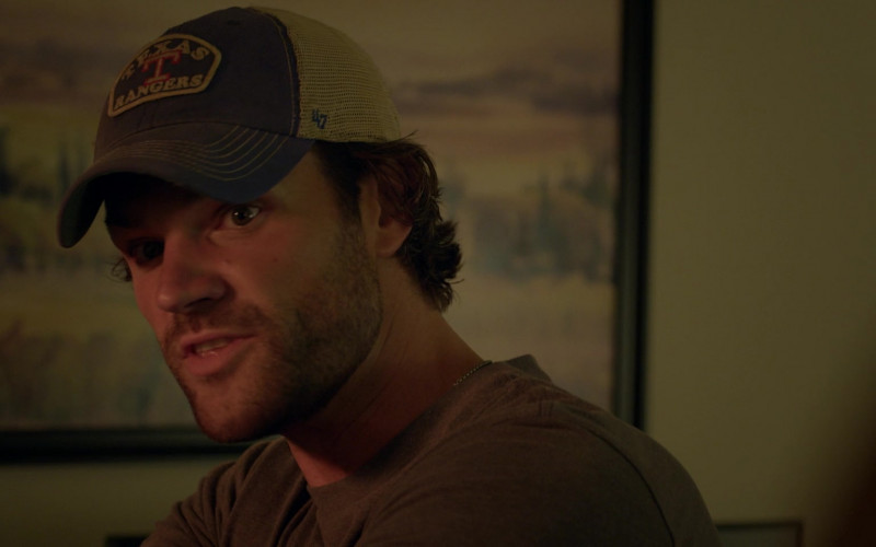 '47 Brand Texas Rangers Cap of Jared Padalecki as Cordell in Walker S01E12 A Tale of Two Families (2021)