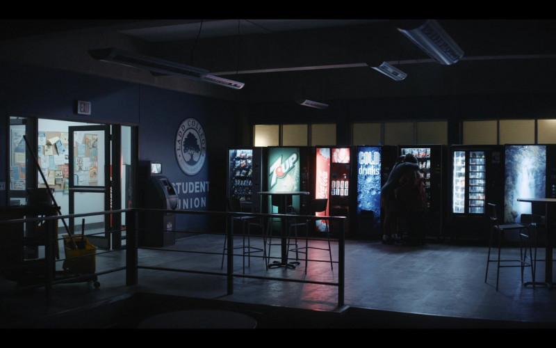 7UP Vending Machine in Shrill S03E07 Beach (2021)