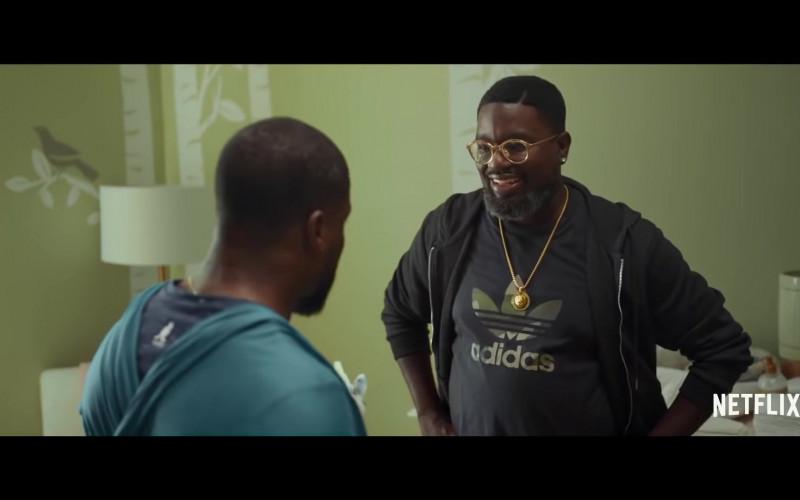 Adidas Men's T-Shirt of Lil Rel Howery as Jordan in Fatherhood (2021)