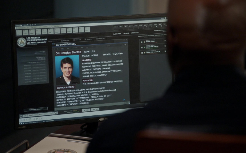 Asus Monitor in The Rookie S03E13 Triple Duty (2021)