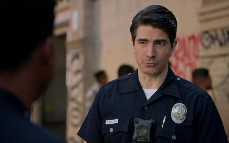 Axon Body Camera of Brandon Routh as Doug Stanton in The Rookie S03E13 Triple Duty (2021)