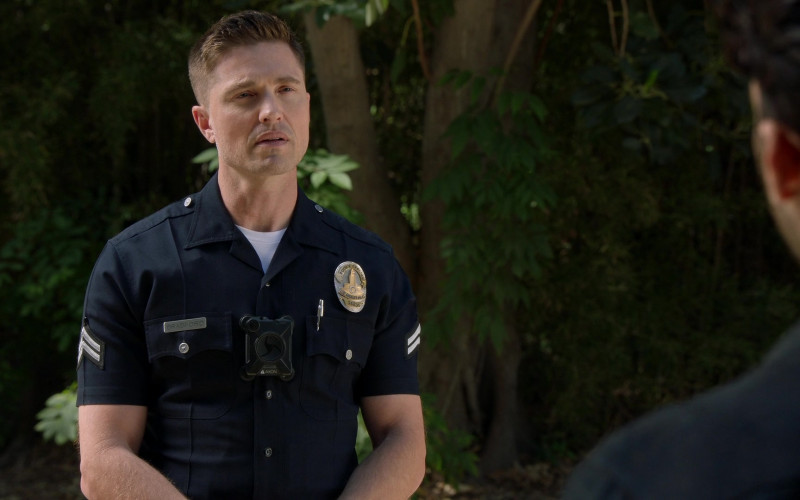 Axon Body Camera of Eric Winter as Tim Bradford in The Rookie S03E13 Triple Duty (2021)
