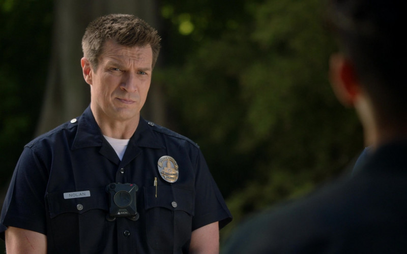 Axon Body Camera of Nathan Fillion as John Nolan in The Rookie S03E13 Triple Duty (2021)