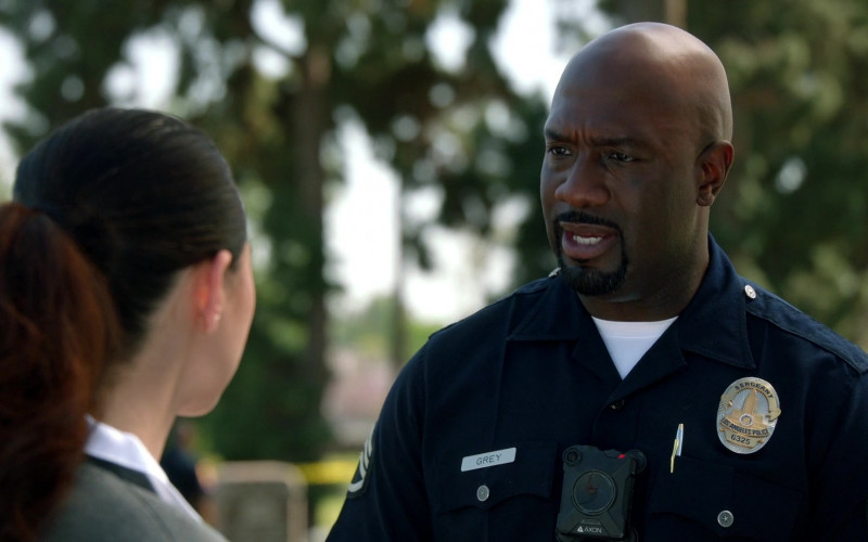 Axon Body Camera of Richard T. Jones as Sergeant Wade Grey in The Rookie S03E13 TV Show 2021 (1)