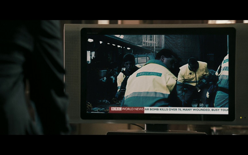 BBC TV Channel in Body of Lies (2008)