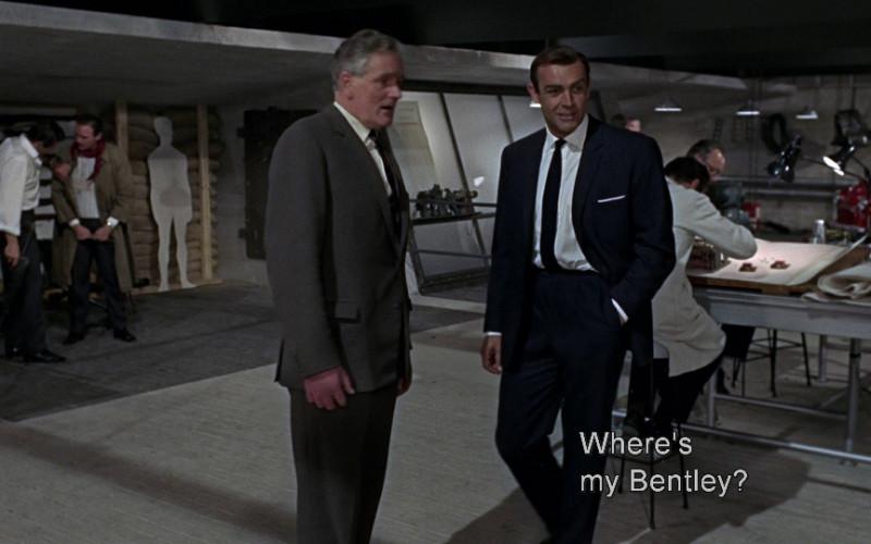 Bentley in Goldfinger (1964)
