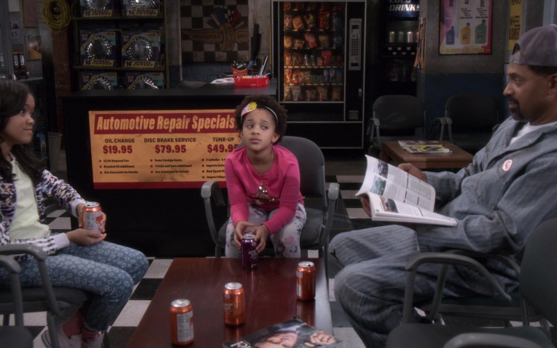 Big K Soda Drinks in The Upshaws S01E10 The Backslide (2021)