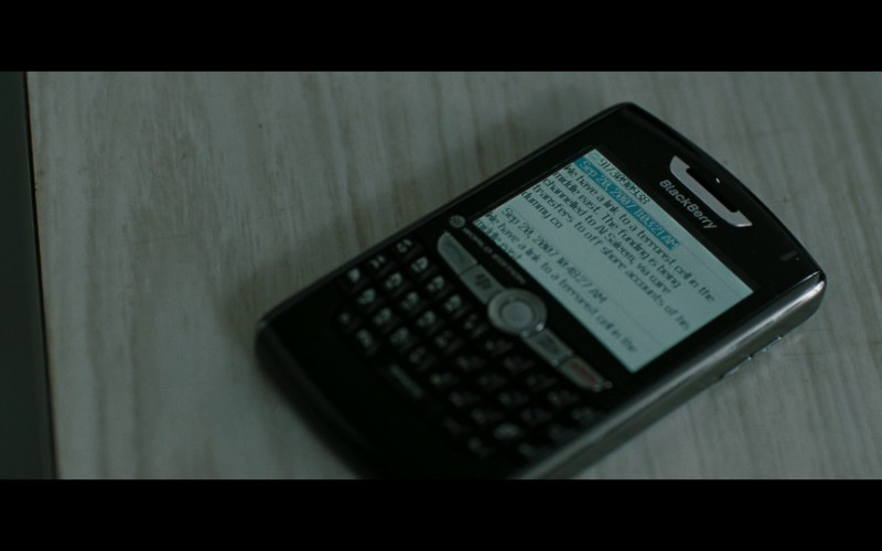 BlackBerry Mobile Phone in Body of Lies (2008)