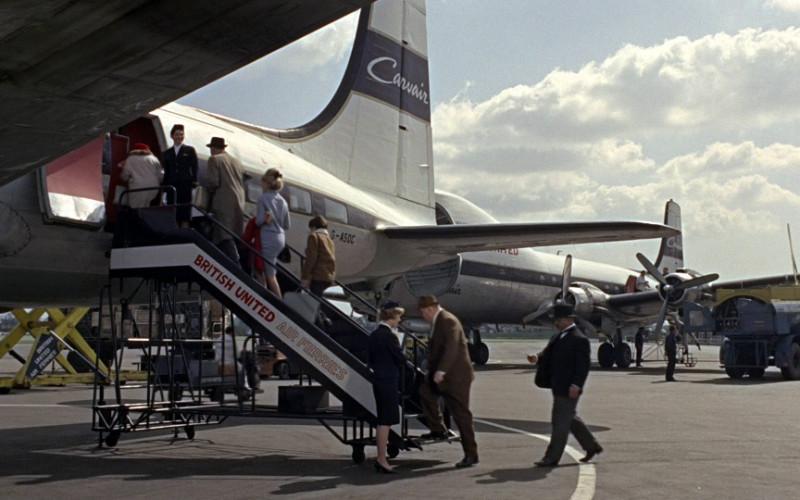 British United Air Ferries Airline in Goldfinger (1964)