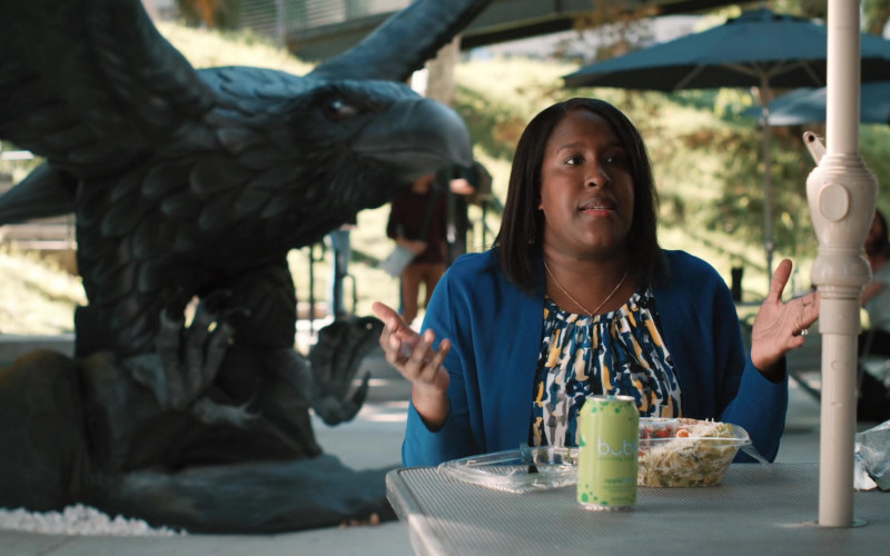 Bubly Sparkling Water in Mythic Quest Raven's Banquet S02E01 Titans' Rift (2021)