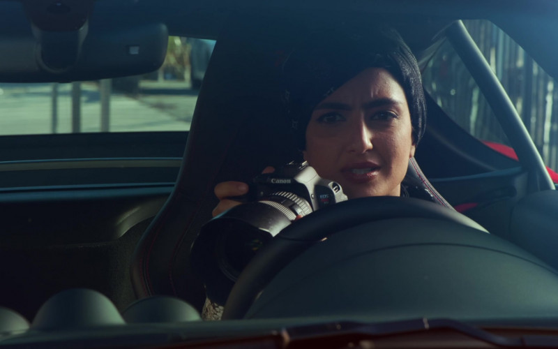 Canon EOS Camera of Medalion Rahimi as Fatima Namazi in NCIS Los Angeles S12E16 Signs of Change (2021)