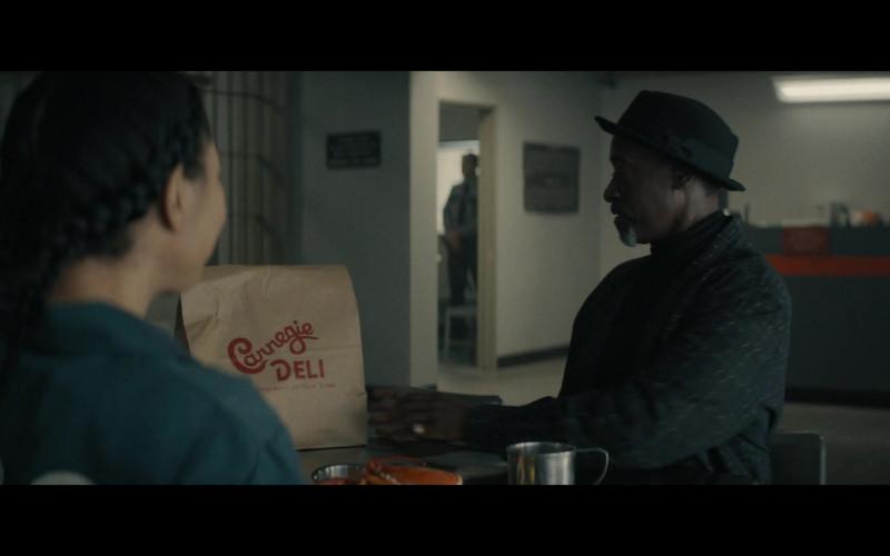 Carnegie Deli Restaurant Food in Black Monday S03E01 TEN! (2021)