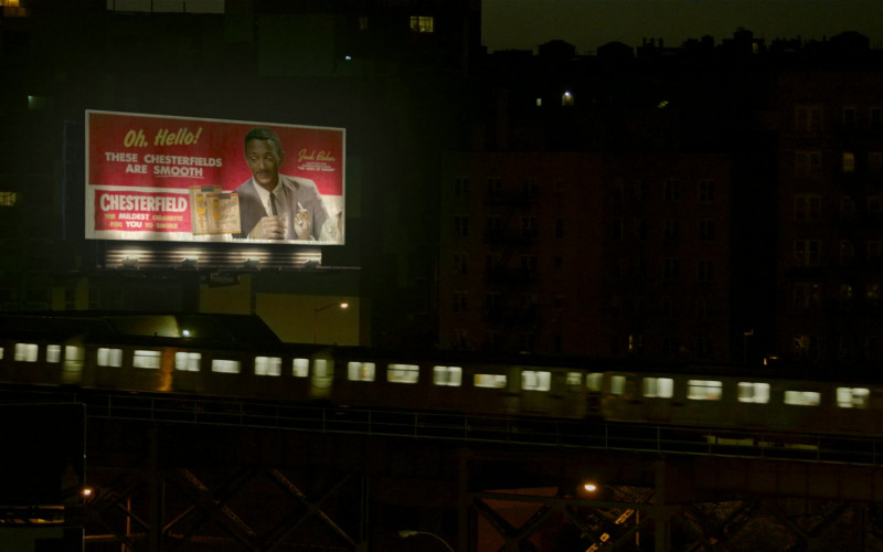 Chesterfield Cigarettes Billboard in Godfather of Harlem S02E04 The Geechee (2021)