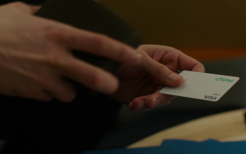 Chime Financial Services Card and Application in Charmed S03E12 (1)